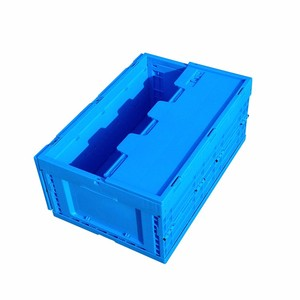 Plastic Nested And Stacked Storage Boxes And Bins