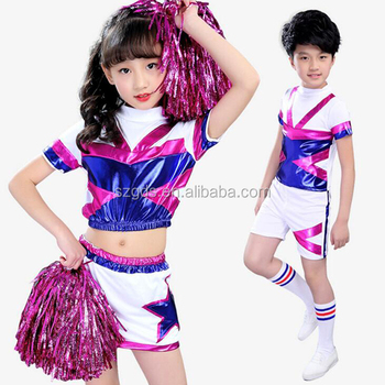 429acea6c 2017 New Girls   Boysjazz Dance Costumes Cheerleading Fashion Modern ...