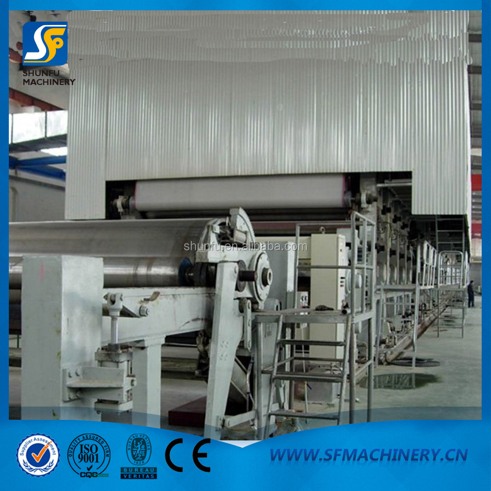 2880mm TypeToilet Paper/Paper Jumbo Roll Making Machine,Toilet Paper Tissue