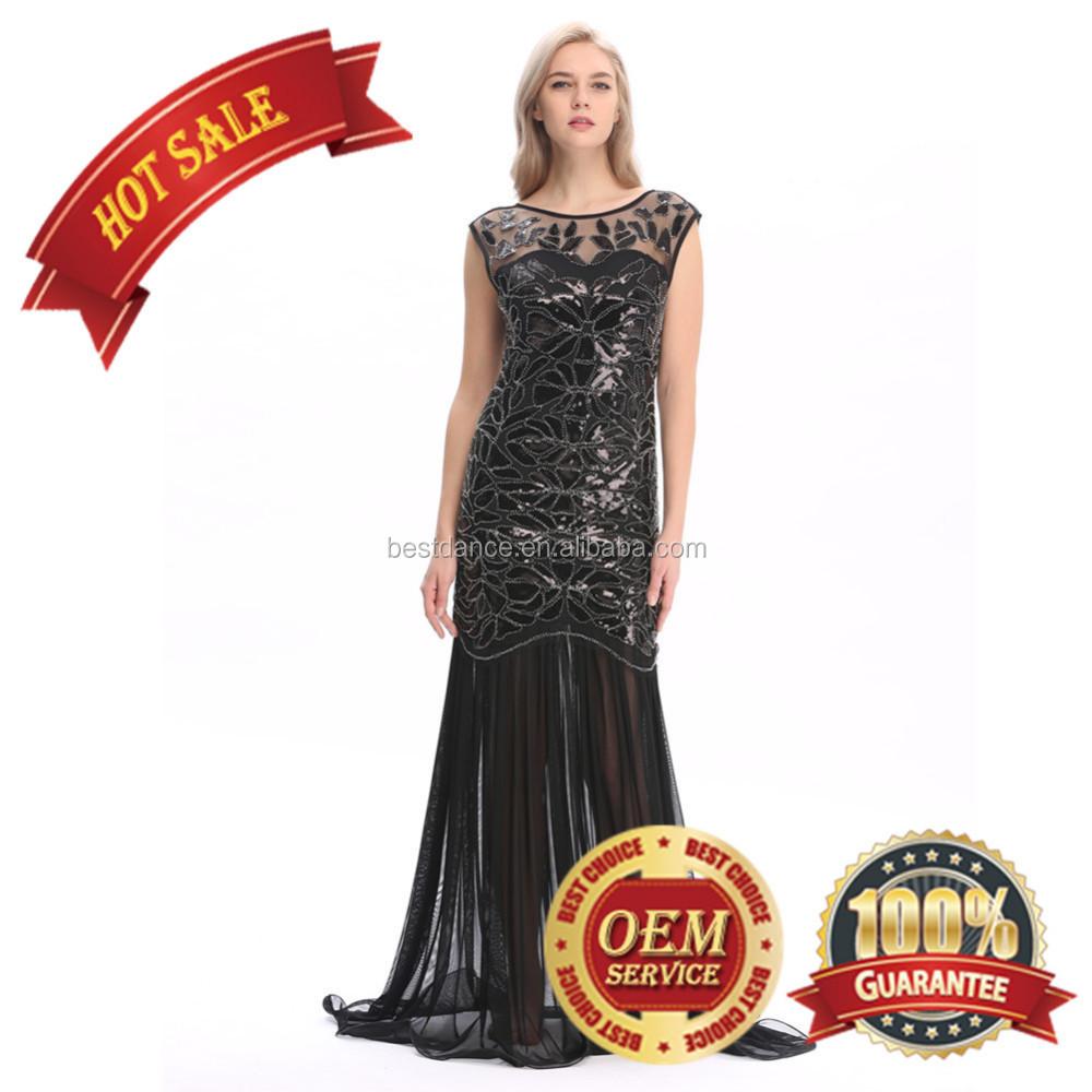 Bestdance Retro Kleid 1920 S Flapper Gatsby Kleid 20 S Quaste ...