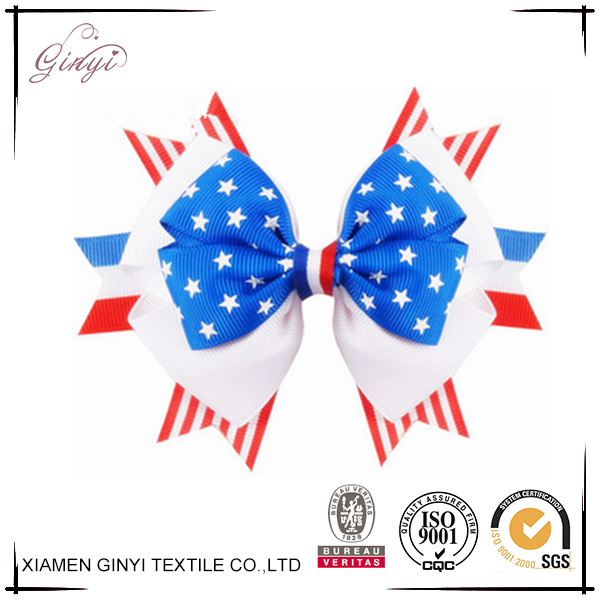 4th of july Bow Headbands,national flag headbands American flag bows