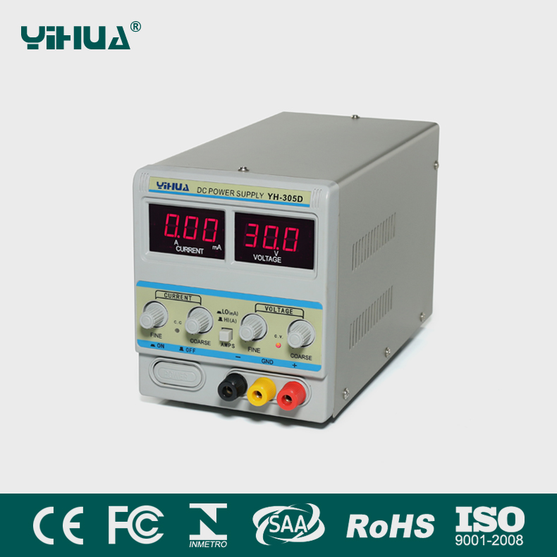 YIHUA 305D High Voltage Dc Direct Current Regulated Power Supply 30V 5A