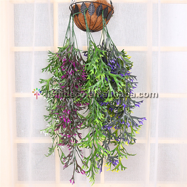 Hot Sale Big Artificial Leaf branch Artificial Hanging Rattan/Branch For Wedding Decoration