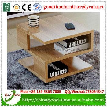 Design Moderne Table De Coin En Bois Pour Salon Petite Table Basse