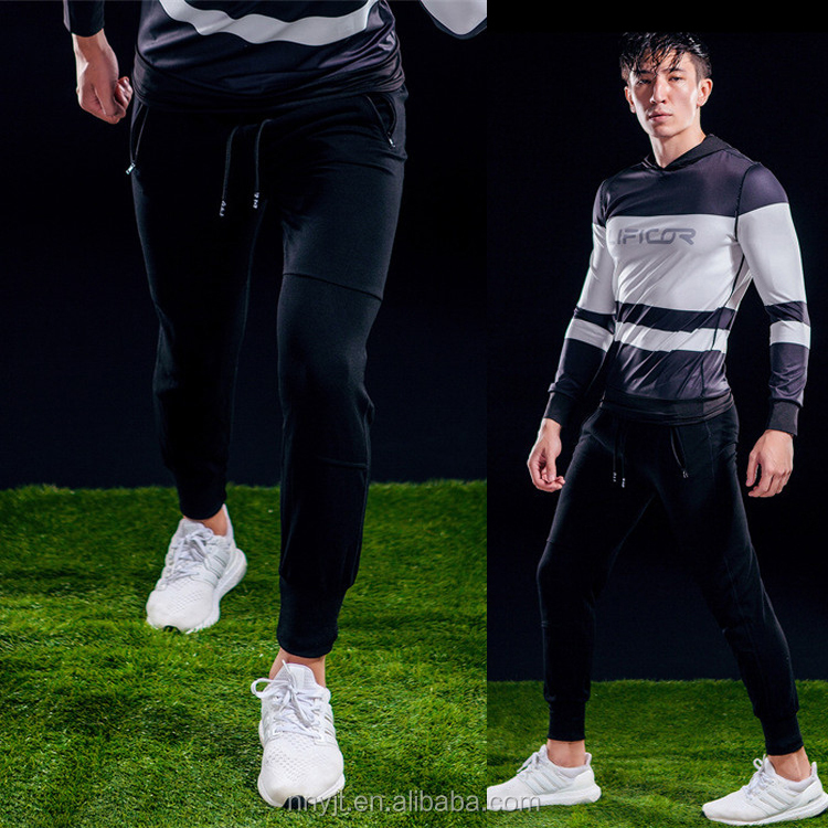 2017 <strong>Sports</strong> Long Pants Trousers Men Jogger Sweatpants Wholesale