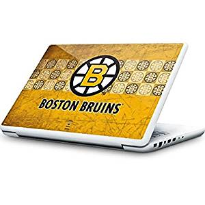 NHL Boston Bruins MacBook 13-inch Skin - Boston Bruins Vintage Vinyl Decal Skin For Your MacBook 13-inch
