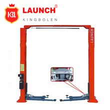 Double hydraulic cylinder and high strength chain drive Launch TLT235SC jack to lift appliances