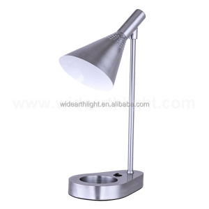 UL CUL Listed Hotel Adjustable Metal Desk Lamp With Switch On Base T20439