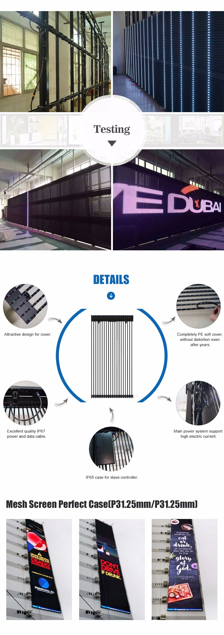 Led curtain concert - Led Screen Hd Video Led Curtain Tranperent Screen For Stage Backdrops Concert Show