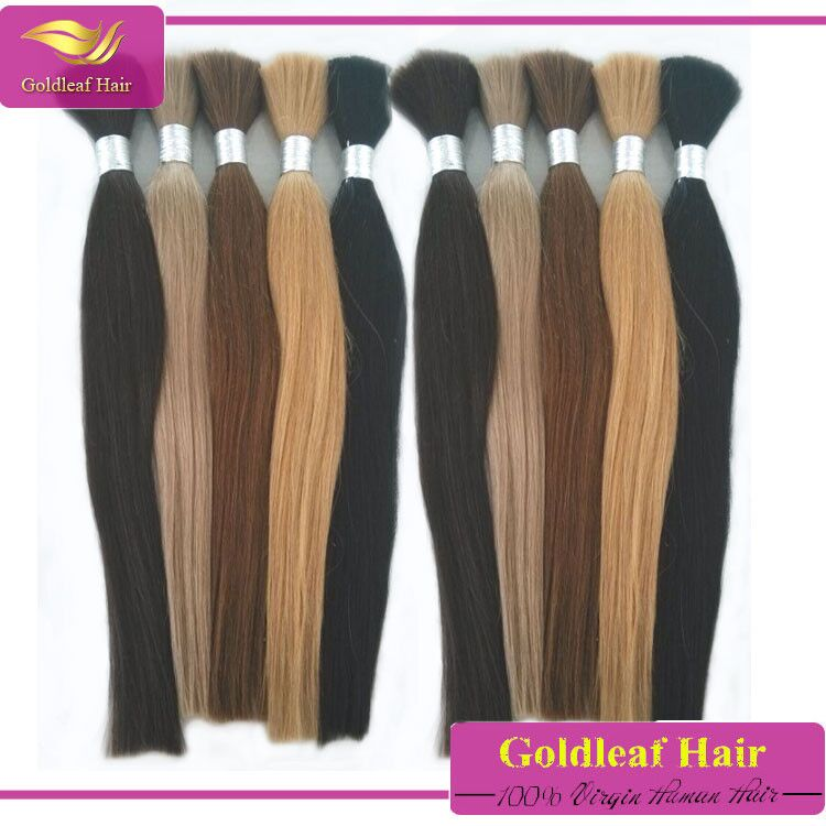 cuticle 7a raw human hair bulk 100% remy hair extensions chinese virgin human hair bulk