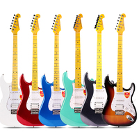 Bullfighter factory OEM high quality best price wholesale guitar kits Chinese electric guitar with high quality guitar strings