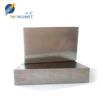 Excellent quality hot sell tungsten rhenium plate
