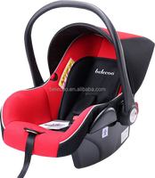 China supplier New style certificate ECE R44/04 safety kids baby car seat red