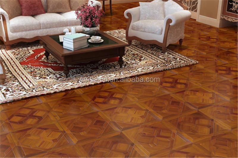 parquet de madera de teca de mm multicapa uv pintado ab grado de madera pisos