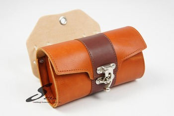 New Design Bike Accessory Classic Leather bicycle Saddle Bag