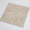 high quality square yellow natural stone mosaic tile