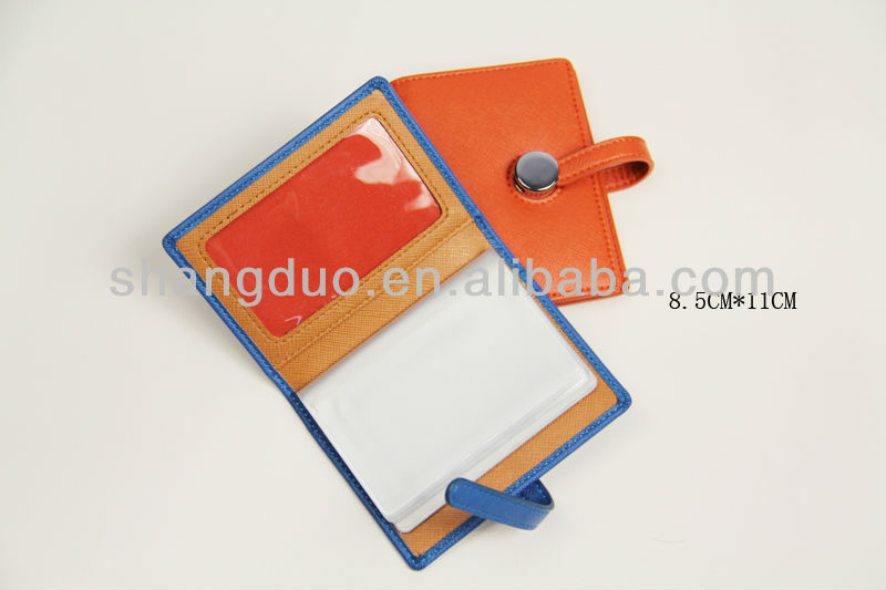 Clear PVC Card Holder Wallet