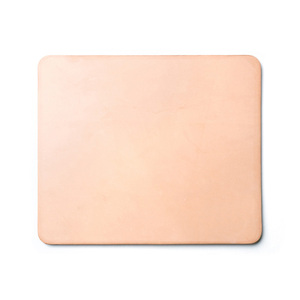 wholesale vegetable tanned leather mousepad custom computer mouse pad