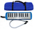 Mouth melodion factory price Melodica Musical Instrument for Kids ABC-QM25A