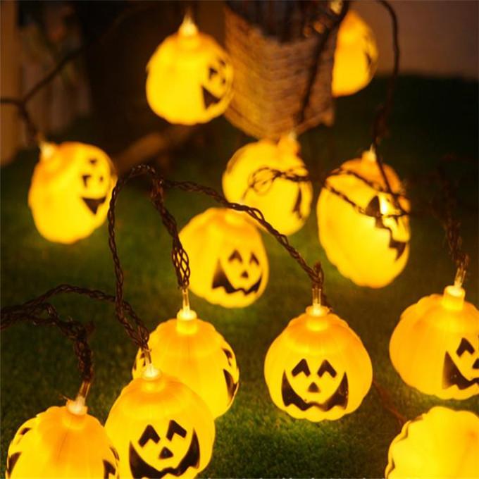 Home & Garden Halloween Pumpkin Or Skull Witch Lantern Witch Lantern Hand Skull Lamp Portable Music Nightlight Ghosty Laughter Light Great Varieties