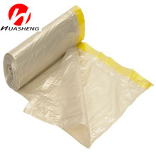 Gravure Printing and LDPE plastic drawstring string trash bags