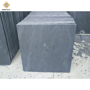 Factory direct sale 20mm thick large slate tiles on grey color
