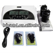Dual Ionizer Detox Toxin Hydrosana Foot Spa Cleanse Equipment