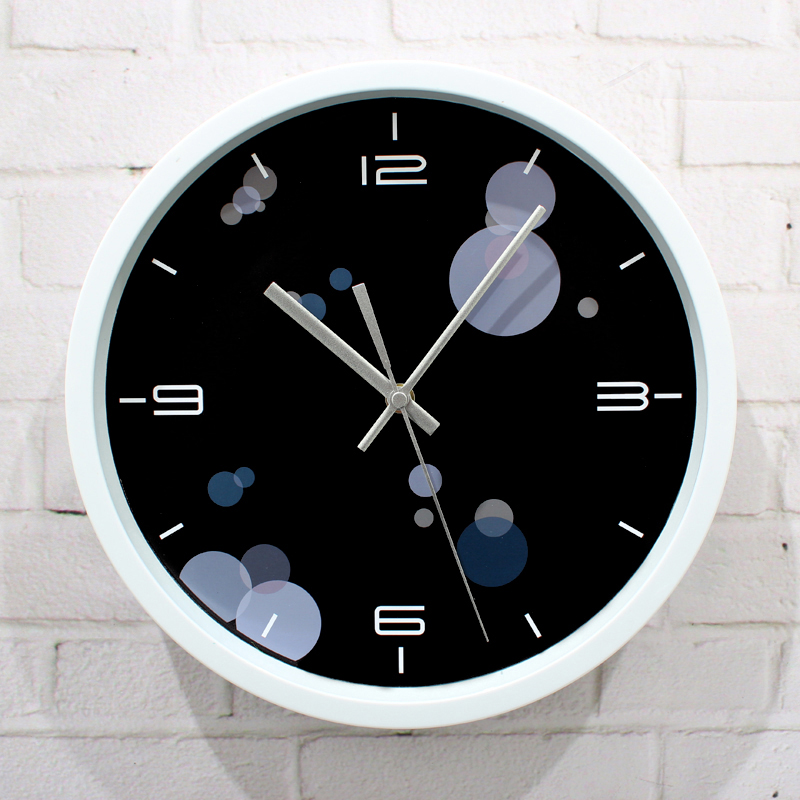 Super creative fashion minimalist aura of glory wall clock,quartz Mute 12 inch home decorative wall watch modern design quality