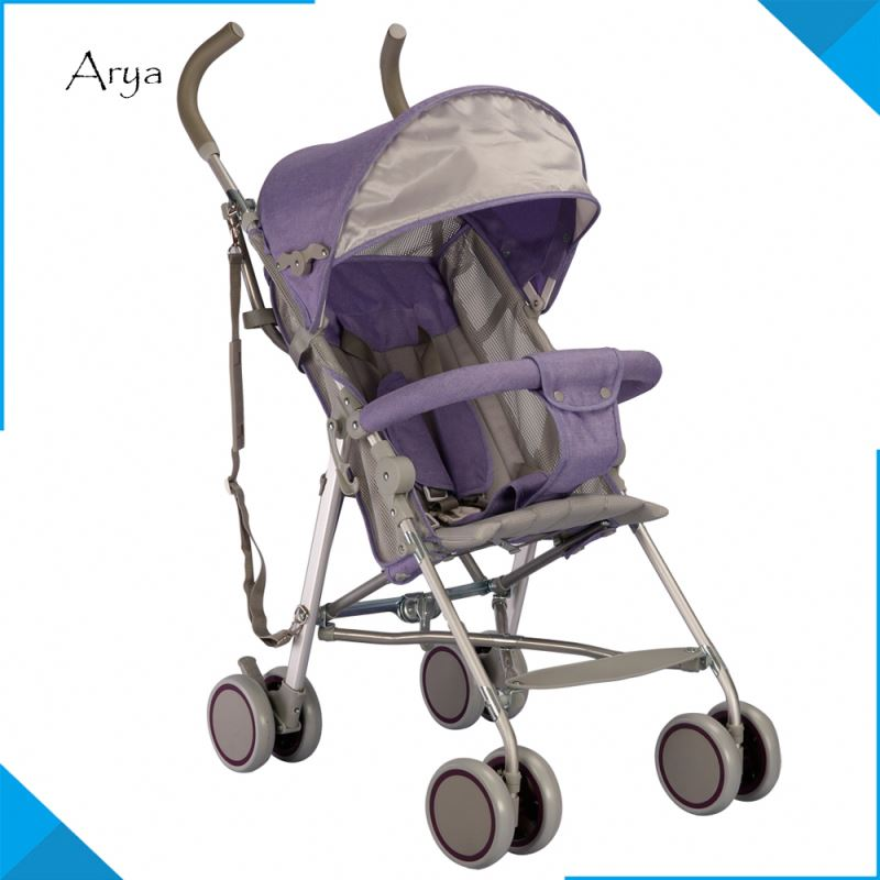 Folding Suspension High view baby stroller united airlines us urban 3 in 1 leather Carriage Infant Foldable Pram pushchair