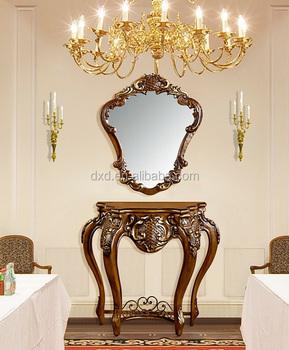 Miroir Couloir haute qualité miroir bois console table couloir console table - buy