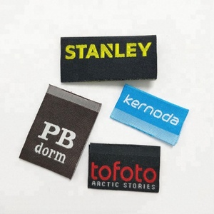 Top-Selling Custom Logo Brand Woven Labels Use For Clothing