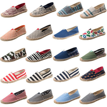 new products online here cheap for sale Womens Espadrilles Men Patchwork Slip On Summer Shoes Women Loafers 2019  Breathable Canvas Men Shoes Fashion Jute Wrapped - Buy Ho Scale Ship ...