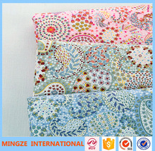 100% Organic cotton printing fabric for bed sheets