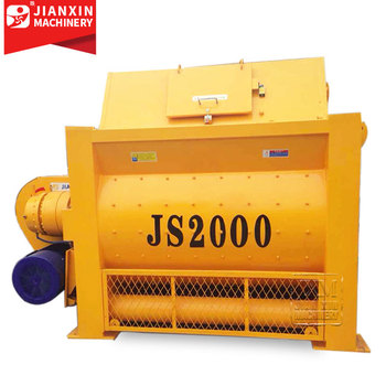 Js Series Good Price 2000 Liter Js2000 Mechanical Cement Concrete Mixer In South Africa