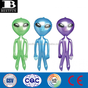 high quality inflatable alien durable plastic inflatable alien baby toys giant inflatable alien 3D model