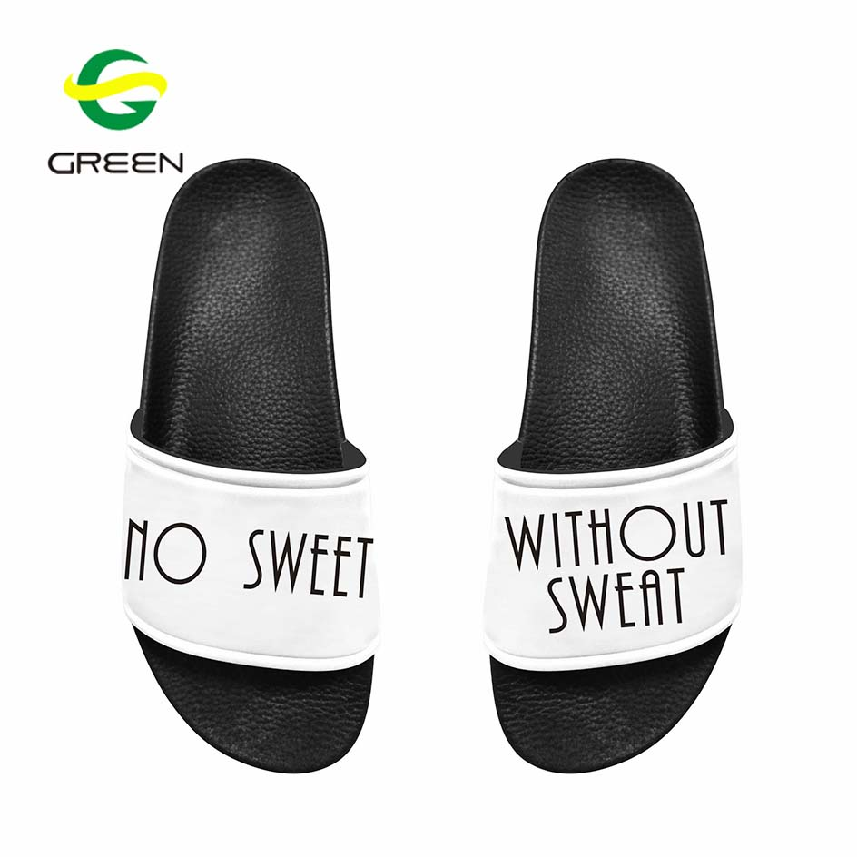 Greenshoe wholesale eva plain slide sandal,black pvc mens slide sandal custom logo slide sandal men <strong>slipper</strong>