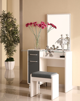 American Style Modern Vanity Dressing Table With Mirror And Makeup