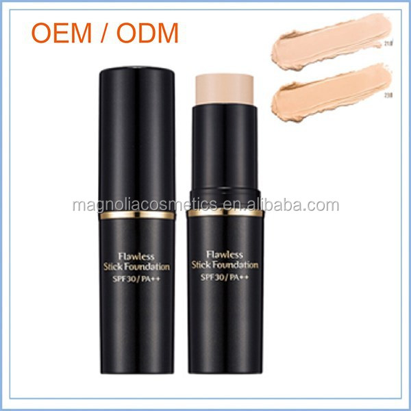 Natural Organic Waterproof Stick Foundation Cosmetics