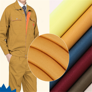 CVC 80% cotton / 20% polyester FR Antistatic anti-acid Fabric 180gsm for workwear