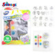 DIY paint drawing color Suncatcher Group Activity Kit, Fun Animal, 18-Pack