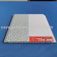half page printing PVC ceiling panel/plastic wall board