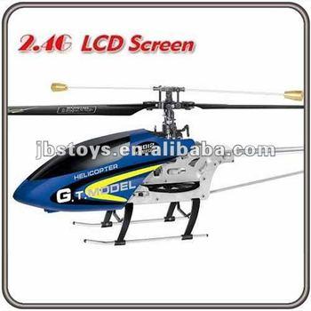 Big 3 5ch Full Metal Single Blade Lcd Rc Helicopter Coaxial Heli - Buy Rc  Helicopter Coaxial Heli,3 5ch Rc Helicopter,Big Size Rc Helicopter Product