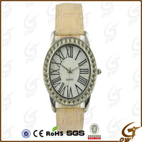 Fashion Champagne strap watch online shopping watch