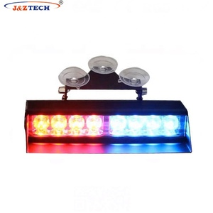 Hot sales 24W Single Row Amber Emergency police Mini warning LED Dash Light for Cars