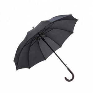 Factory price new inventions in china advertise straight golf umbrella with uv protection
