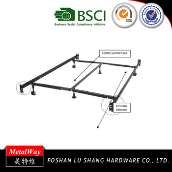 Durable Metal Adjustable Bed Frame Twin/full/queen/king/cal King ...