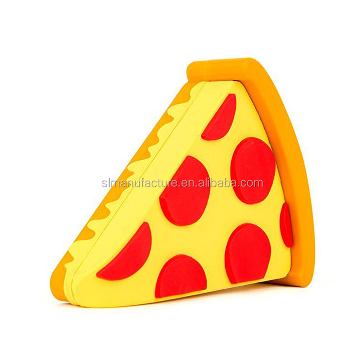 2017 Pizza power bank/food power bank/customized shaped phone chargers фото