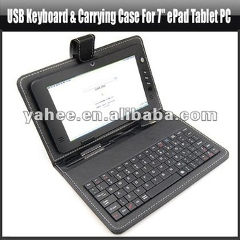 Usb Keyboard And Carrying Case For 7
