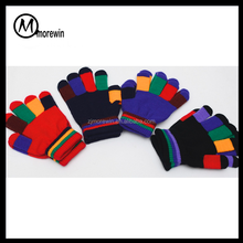 95abbc684c4 2016 Morewin brand Knit Mittens Kids Gloves Winter Warm Fitness Children  Gloves For Girls Boys Gloves