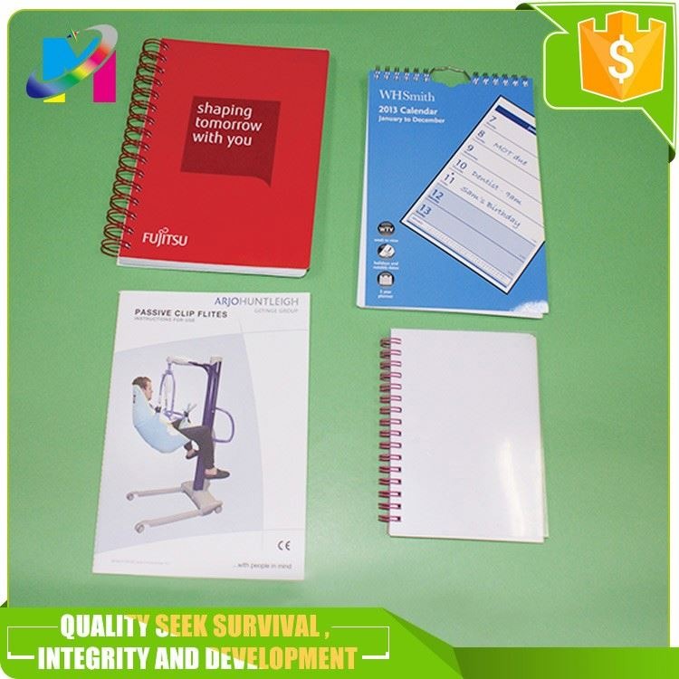 PET /pp hard cover notebook/3D custom print exercise book/office supply Jiangmen book